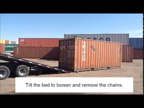 Video Moving a Shipping Container (without a forklift or crane) download in MP3, 3GP, MP4, WEBM, AVI, FLV January 2017