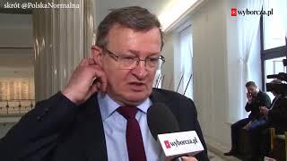 Cymański: Niech opozycja nie rozgrywa sprawy Banasia tak brutalnie.