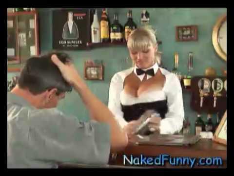 好胸的調酒師…是男人都沒辦法淡定…