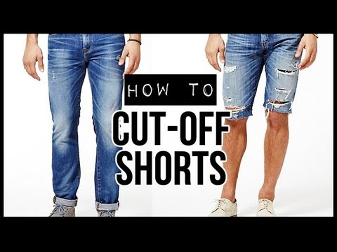 HOW TO: CUT-OFF SHORTS ✂ D.I.Y TUTORIAL   JAIRWOO