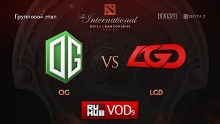 OG vs LGD.cn, game 2