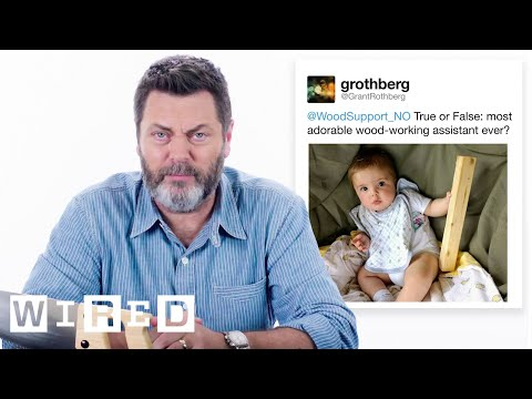 Nick Offerman Answers Woodworking Questions From
