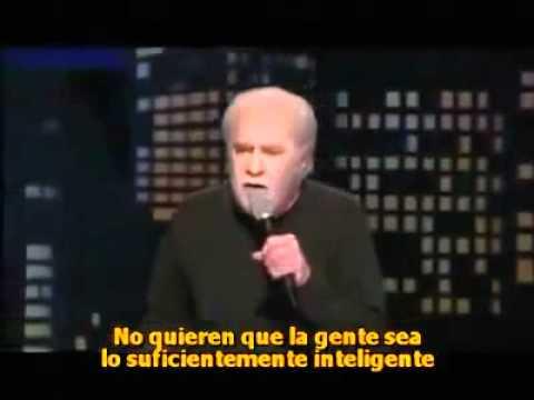 George Carlin - El gobierno nos manipula...