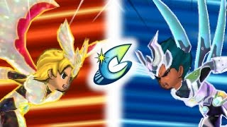 (Semifinal) Inazuma Eleven GO 3 Galaxy : Chrono Storm VS CS Revival (Level 99 Battle Part 51)