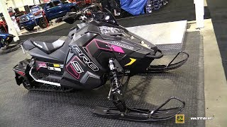 3. 2018 Polaris Rush Pro S 800 - Walkaround - 2017 Toronto Snowmobile Show