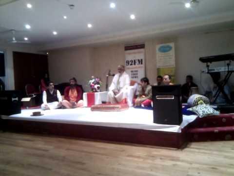 Guru Chandraswami at Ilford Temple UK