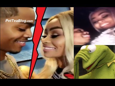 BlacChyna & Side N*gga BREAK UP after he Tattoos her name 🤔😮😬 (VIDEO FOOTAGE)