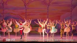 American Repertory Ballet's Nutcracker School Matinee at State Theatre New Jersey Dec 20, 2018