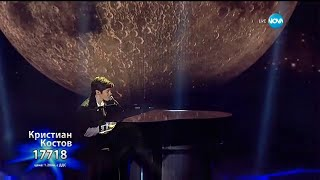 Kristian Kostov videoklipp Болката От Ляво (On The X-Factor Bulgaria) (Live)