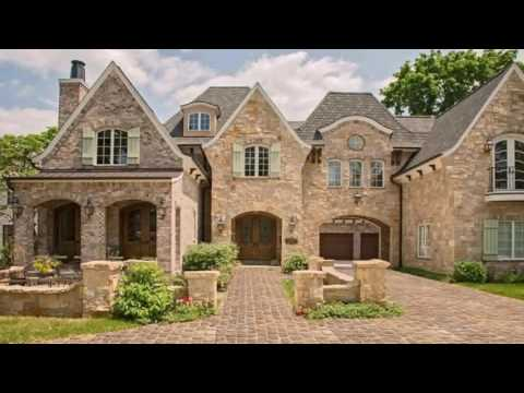 English Style Stone House Plans