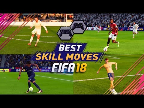 FIFA 18 BEST SKILLS TUTORIAL / MOST EFFECTIVE SKILL MOVES In FIFA 18 / Tricks For PS4 & XBOX ONE