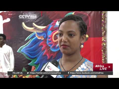 CCTV Africa - Ethiopians celebrate Chinese Dragon boat festival