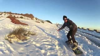 Snowboard, madeira, pico do areeiro, neve, snow, gopro