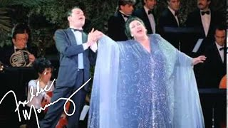 Video Freddie Mercury & Montserrat Caballé - Barcelona (Live at Ku Club Ibiza, 1987) MP3, 3GP, MP4, WEBM, AVI, FLV Juni 2018