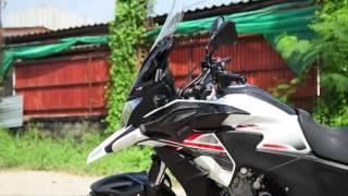 6. Honda CB500X with Motozaaa Accessory @Furii shop