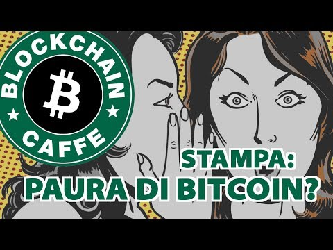 Stampa: Paura di Bitcoin? | Blockchain Caffè (видео)