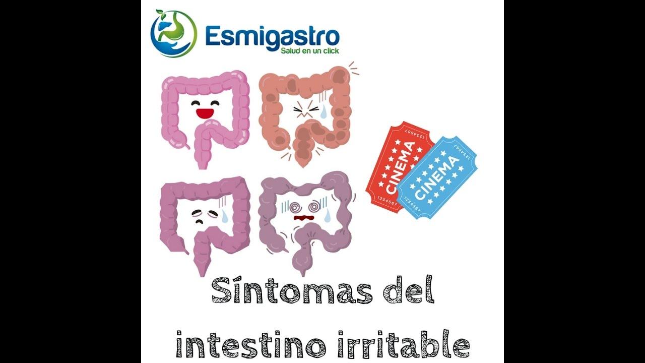 Síntomas del intestino irritable
