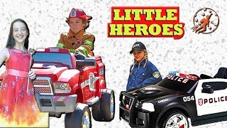 Video Little Heroes Season 5 - The Fire Princess, The Kid Police and the Doctor - New Sky Kids MP3, 3GP, MP4, WEBM, AVI, FLV Oktober 2018