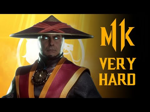Mortal Kombat 11 - Raiden Klassic Tower (VERY HARD) NO MATCHES LOST