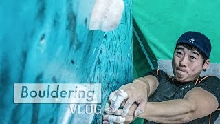 Are Climbing Gyms Different In Korea? by Bouldering Vlog