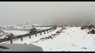 Ha'il Saudi Arabia  city images : Snow & Hail Saudi Arabia, Feet of Hail in Mexico, Australia Slammed | Mini Ice Age 2015-2035 (268)