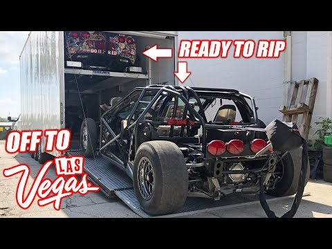 The Kids Leave for LS Fest in Las Vegas + The Crown Vic's Crash Bar is SICK!!