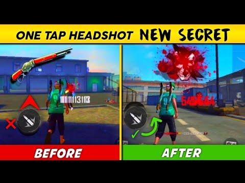 Secret Tips & Tricks Of One Tap Headshot 🤫 24kGoldn - Mood ❤️ ( FreeFire Highlights )