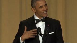 Обама повеселил СМИ шутками про Клинтон и Трампа