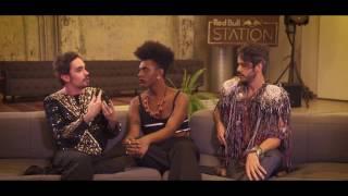 Três dos mais ousados artistas da nova geração, Johnny Hooker, Liniker e Almério se reuniram no Red Bull Station, em São Paulo, para anunciar o show totalmente sem rótulos que acontece no dia 17 de setembro na nova Cidade do Rock.