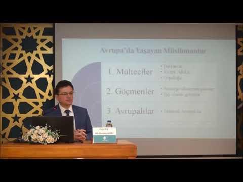 Prof. Dr. Ali Osman KURT - Cumartesi Konferansları - Hıristiyan Dünyanın Müslüman Mülteciler Sorunuyla İmtihanı
