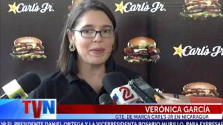 Carl's Jr, la cadena global de hamburguesas premium, hizo su lanzamiento oficial de marca este martes en Nicaragua con la...