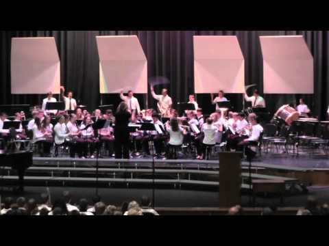 Central Middle School - Band 7 - Starry, Starry Night - 06.04.2014 (видео)