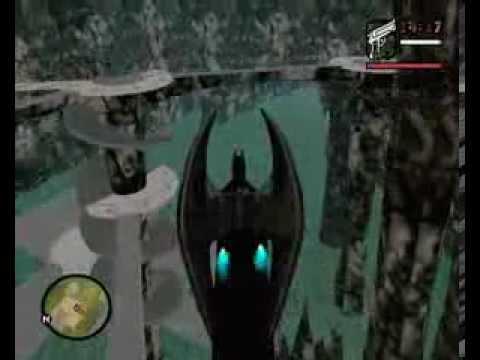 GTA San Andreas  SA    BATMAN MODE   The Dark Knight Begins