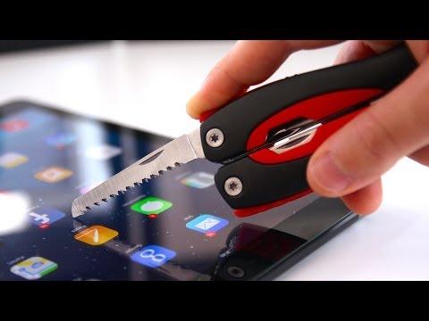 Kratzfeste Schutzfolie aus Panzerglas im Test! (Stilgut Panzerschutz für's iPad Air) - felixba