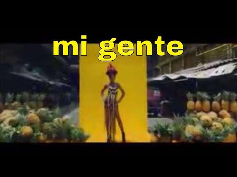 j  balvin, willy william  mi gente remix with lyrics (видео)