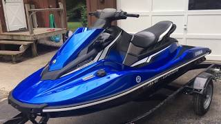 8. 2018 Yamaha EX Deluxe Waverunner - 1 Month Review