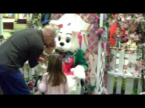 KIDS VISIT THE EASTER BUNNY