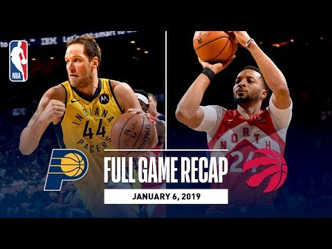 Video: Full Game Recap: Pacers vs Raptors | Norman Powell Steps Up For Toronto