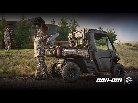 Accessoires de chasse pour véhicule côte à côte Can-Am Defender