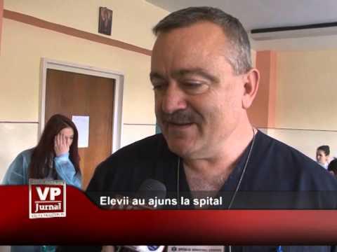 Elevii au ajuns la spital