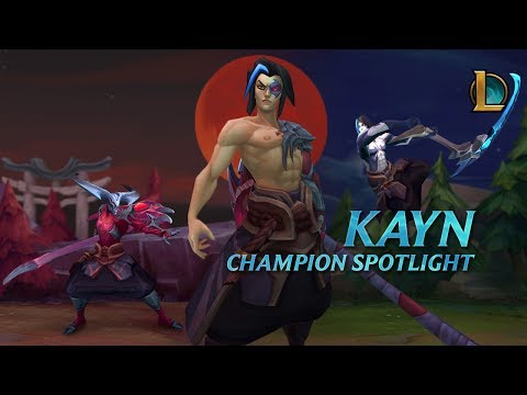 Kayn Champion Spotlight | Gameplay - League Of Legends