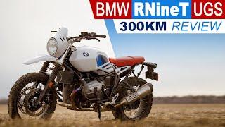 4. 2018 BMW RnineT Urban/GS 300kM REVIEW