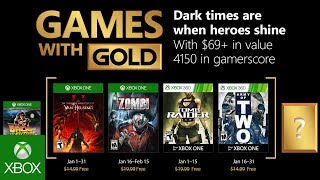 Games With Gold di gennaio