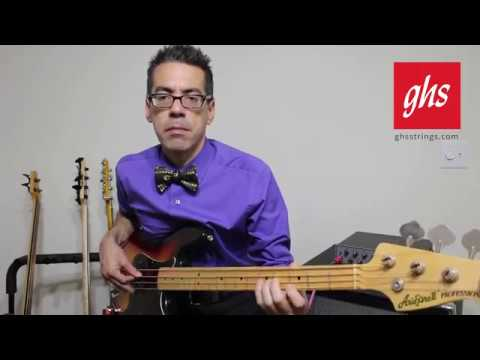 GHS Strings - Pressurewound Bronze Bass