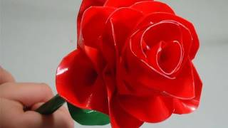 How to make a realistic duct tape rose
