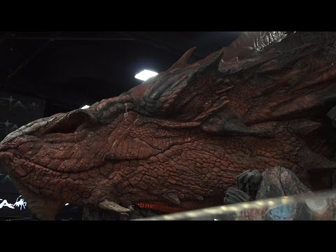 dragon - Justin Haywald chats with Luke Hawker about making the huge dragon at Weta's Comic-Con booth, and some of the work he's done in video games like Tera and Grey Goo. Visit all of our channels:...