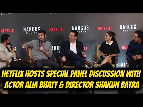 Netflix Hosts Special Panel Discussion with Actor Alia Bhatt & Director Shakun Batra