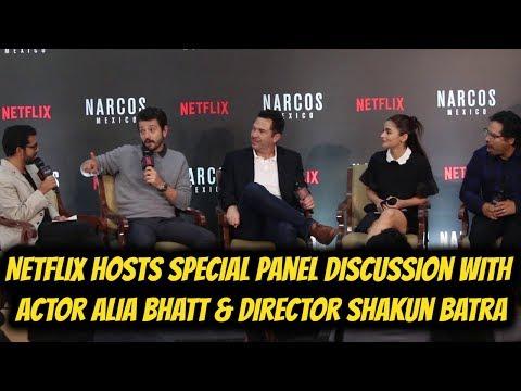 Netflix Hosts Special Panel Discussion with Actor Alia Bhatt & Director Shakun Batra