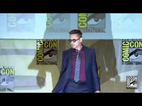 age - It's here! Watch the highlights from the biggest event at San-Diego Comic-Con 2014: The Marvel Studios Panel in Hall H! Hear directly from Robert Downey, Jr., Chris Evans, Mark Ruffalo, Chris...