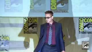 Video Official- Marvel's The Avengers: Age of Ultron Cast Assembles at Comic-Con 2014 MP3, 3GP, MP4, WEBM, AVI, FLV November 2018